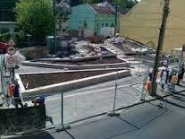 parképítés